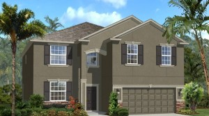 Maple model - Callaway Bay at Wyndham Lakes Davenport new homes for sale
