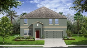 Sequoia model - Callaway Bay at Wyndham Lakes Davenport new homes for sale