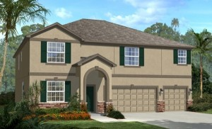 Stratford Cove at Wyndham Lakes McKinley model new homes for sale