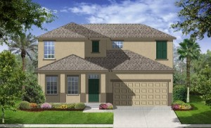 Stratford Cove at Wyndham Lakes Valencia model new homes for sale